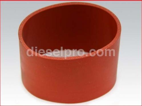 Intercooler hose for Detroit Diesel - 3 x 2 3/4 inch