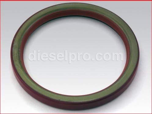 Rear oversized single lip crankshaft seal for Detroit Diesel engine
