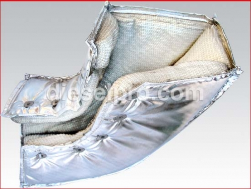 Riser blanket for Detroit Diesel  - LEFT BANK