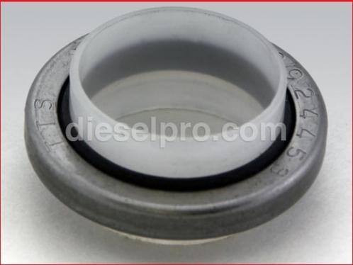 Blower seal for Detroit Diesel engine.