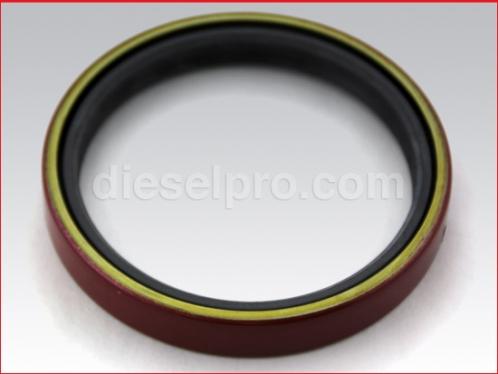 Rear double lip seal for Detroit Diesel engine - oversize