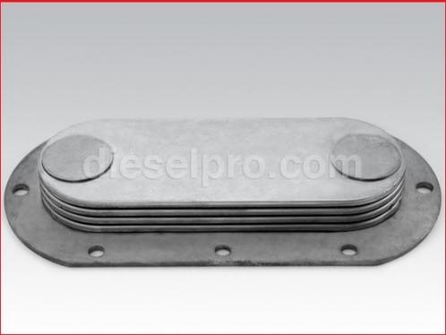Oil cooler 4 plates for Detroit Diesel engine series 60