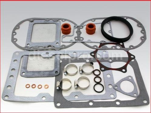 Blower installation kit for Detroit Diesel natural engine