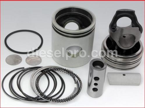 Liner less cylinder kit for Detroit Diesel turbo engine