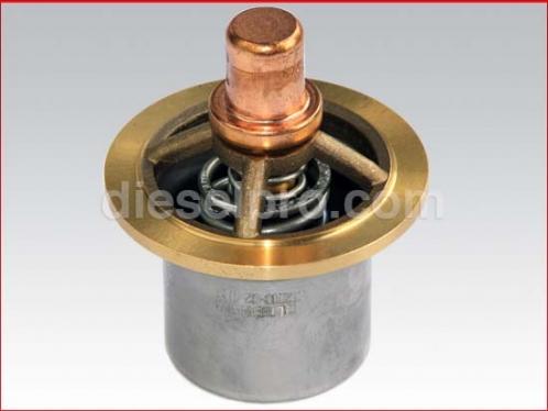 Thermostat for Detroit Diesel engines 6V53 and 8V53
