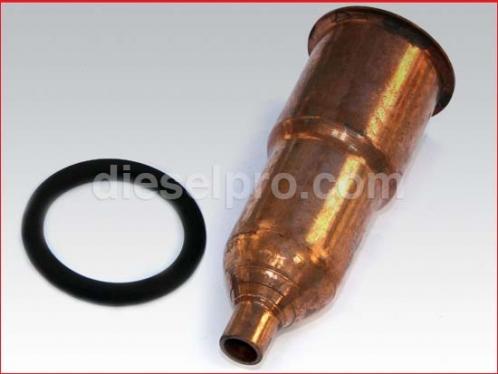 Injector tube for Detroit Diesel engine
