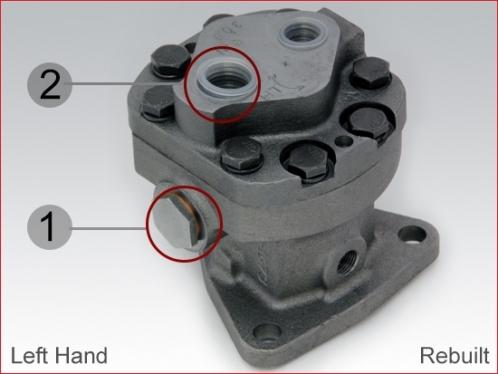Fuel pump for Detroit Diesel, left hand - Rebuilt