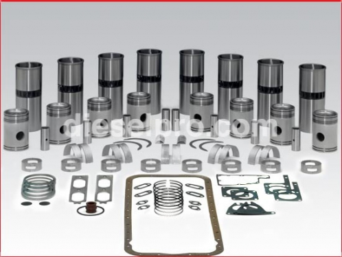 Rebuild kit - Detroit Diesel 471 engine natural, 2 piece piston