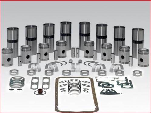 Rebuild kit - Detroit Diesel 6V71 engine natural, 2 piece piston