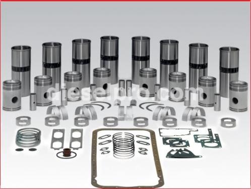 Rebuild kit - Detroit Diesel 8V71 engine natural, 2 piece piston