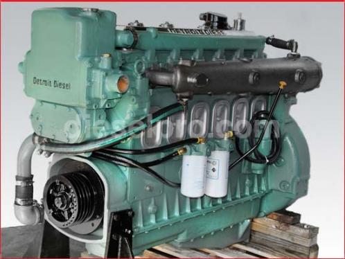 Detroit Diesel Marine Engine 6-71 , natural- rebuilt RC