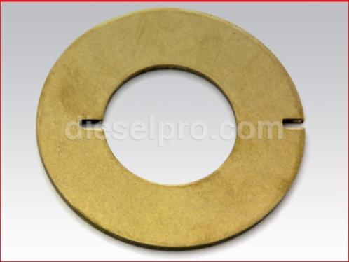 Wear plate for Detroit Diesel marine engine.