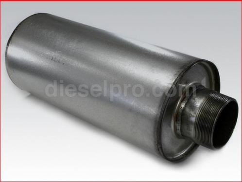 Muffler for industrial Detroit Diesel engine 4