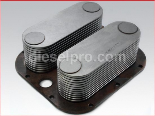 Detroit Diesel Oil cooler - 24 plates