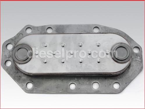 Detroit Diesel Oil cooler - 4 plates