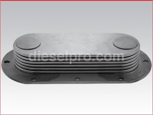 Detroit Diesel Oil cooler - 6 plates