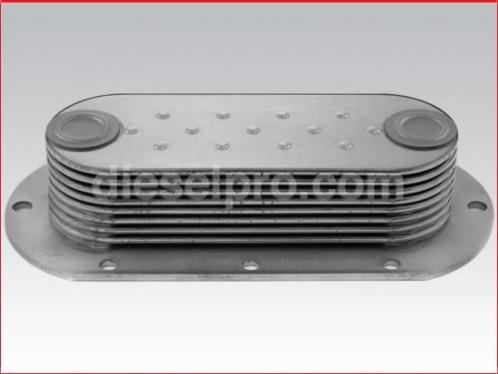 Detroit Diesel Oil cooler - 8 plates