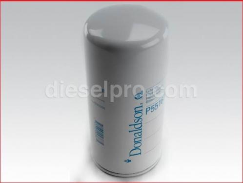 Oil filter for Detroit Diesel engine