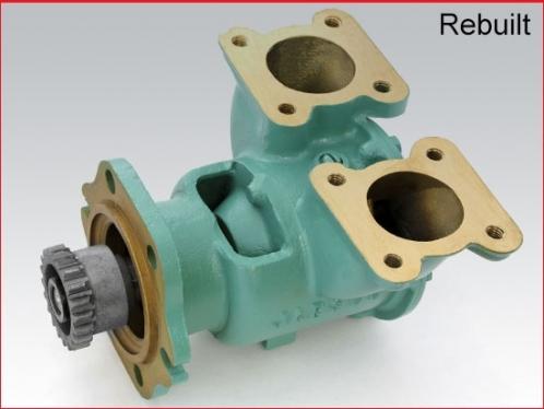 Detroit Diesel Raw, sea water pump for 6V53, 8V53, 4-71, 6-71, 6V71, 6V92, Rebuilt