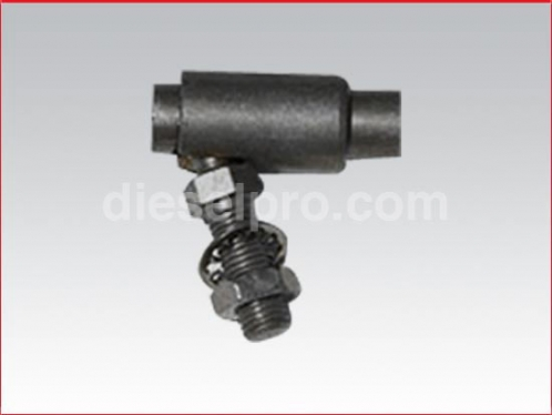 "Teleflex Morse Ball joint type terminal for 1/4"" marine cable"