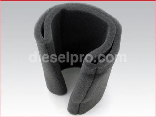 Detroit Diesel Turbo silencer filter for engine