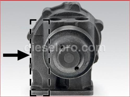 Detroit Diesel Fresh Water Pump for 353, 453, 6V53, 8V53