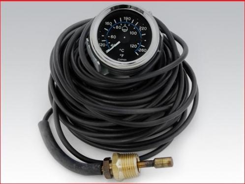 40 ft Engine water temperature gauge - Mechanical
