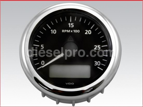 VDO 126 Tachometer 0 to 3000 RPM - Electrical 12 & 24 volts