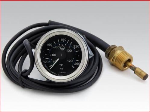 6 ft Engine water temperature gauge - Mechanical