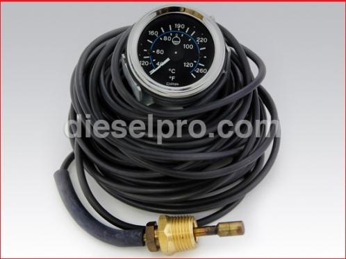 45 ft Engine water temperature gauge - Mechanical