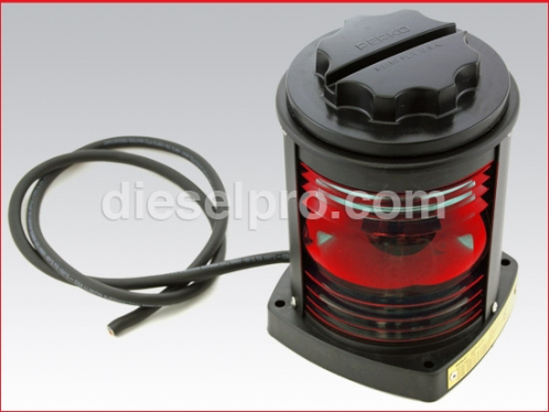 1127RA0BLK Green Side Navigation Light for Boats from 20mts (65.6 ft) to 50mts (164 ft)