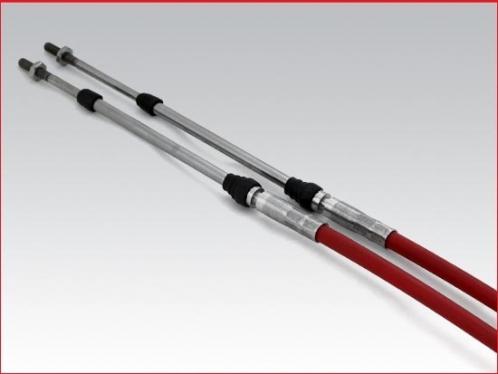 Teleflex Morse - 38 feet Marine control cable, 3/16 inch thread
