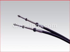 43C-50 Teleflex Marine Engine Control Cable 50 feet long  1/4 thread