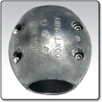 X13 Zinc anode for 3 inches  propeller shaft