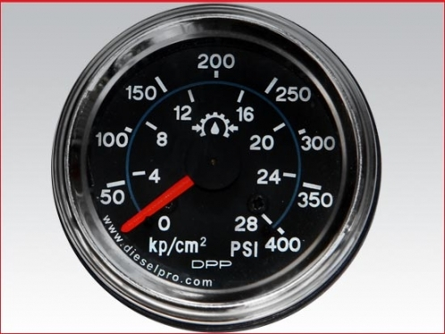 Marine gear oil pressure gauge 0 to 400 PSI, Mechanical