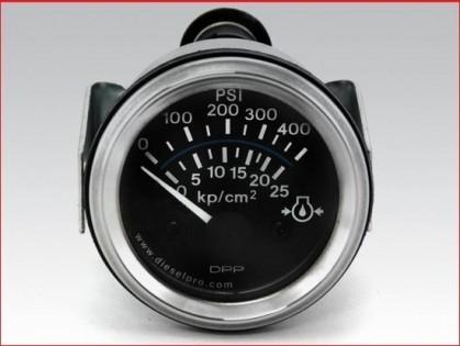 Marine Gear Oil Pressure Gauge Electrical 12 Volts