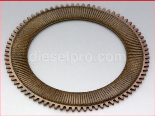 Clutch plate for Twin Disc marine gear MG502.