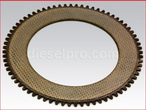 Clutch plate for Twin Disc marine gear MG5090 and MG5091