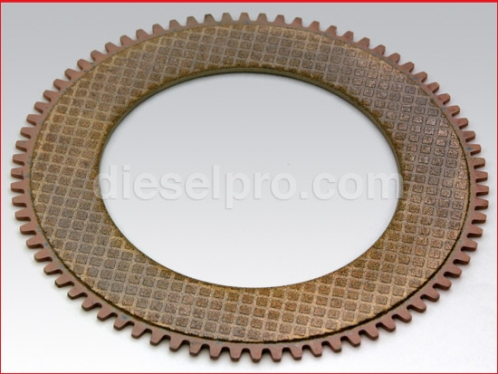 Clutch plate for Twin Disc marine gear MG509 and MG5114
