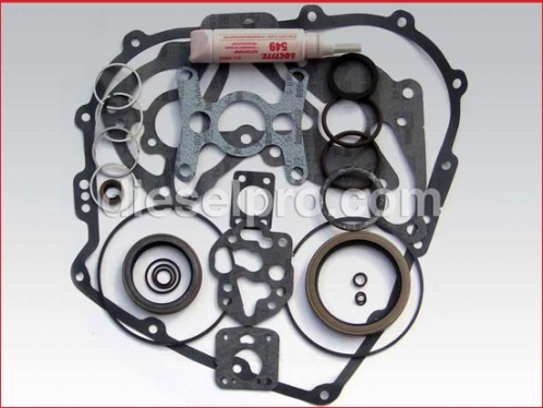 Gasket and seal kit for Twin Disc marine gear MG5111A - angled drive