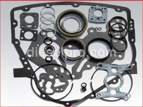 Gasket and seal kit for Twin Disc marine gear MG5114A - angled drive