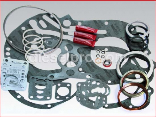 Gasket and seal kit for Twin Disc marine gear MG5114