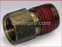Detroit Diesel engine,Connector,restriction,1/4x3/8,NTP,8924195,Conector,restriccion,1/4x3/8 NTP