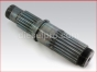 Allison marine transmission MH,lower input shaft new,6771998,Eje inferior nuevo