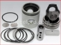 Detroit Diesel,6-71 natural 4v engine,5306 P,Linerless cylinder kit,series 71,Cross Head,Natural,2 piece piston,Conjunto sin camisa o cilindro,piston de 2 piezas