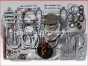 Detroit Diesel engine 8V92,Gasket kit Engine Overhaul,5199617,Kit completo de empacaduras