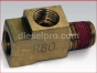Detroit Diesel engine,Connector T with restriction R80 0,25 per 0,31 NTP,8925027T,Conector T con restricion R80 0,25 por 0,31 NTP