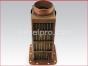Detroit Diesel engine,Heat exchanger core, 8509553,Radiador marino
