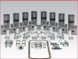 Detroit Diesel,Inframe Kits,Rebuilding kit 4-71natural,1piece piston,IFK471TK,Kit de reparacion 4-71 natural,piston entero