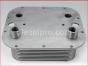 Detroit Diesel engine,Oil cooler,24 plates,8547561,Enfriador de aceite de 24 placas con niples